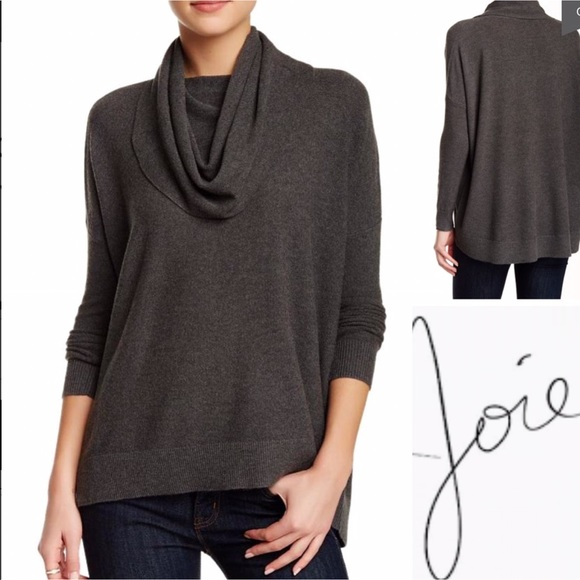 JOIE Melantha Loos Cowl Neck Sweater Tunick
